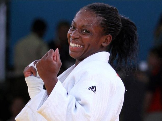 Sportive, positive et féminine… Rencontre avec la judoka Gévrise Emane