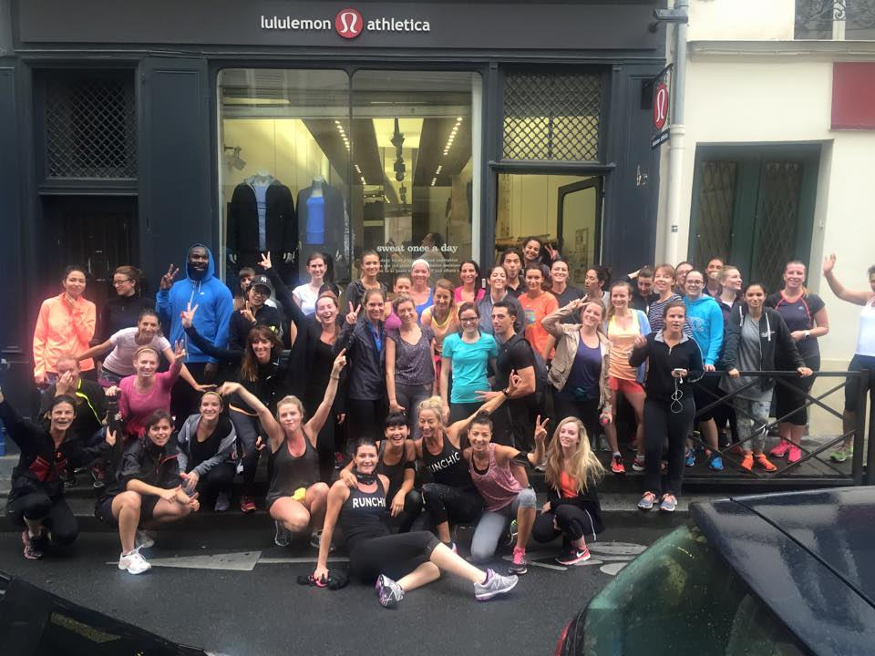 Lululemon Athletica Paris Evénement