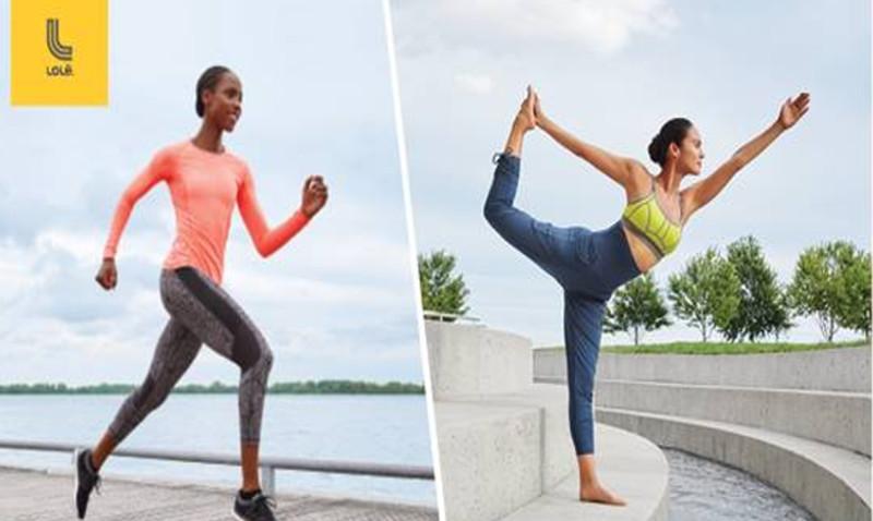 jogging yoga