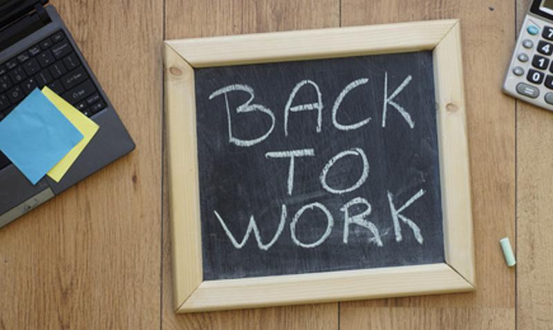 Retour au boulot