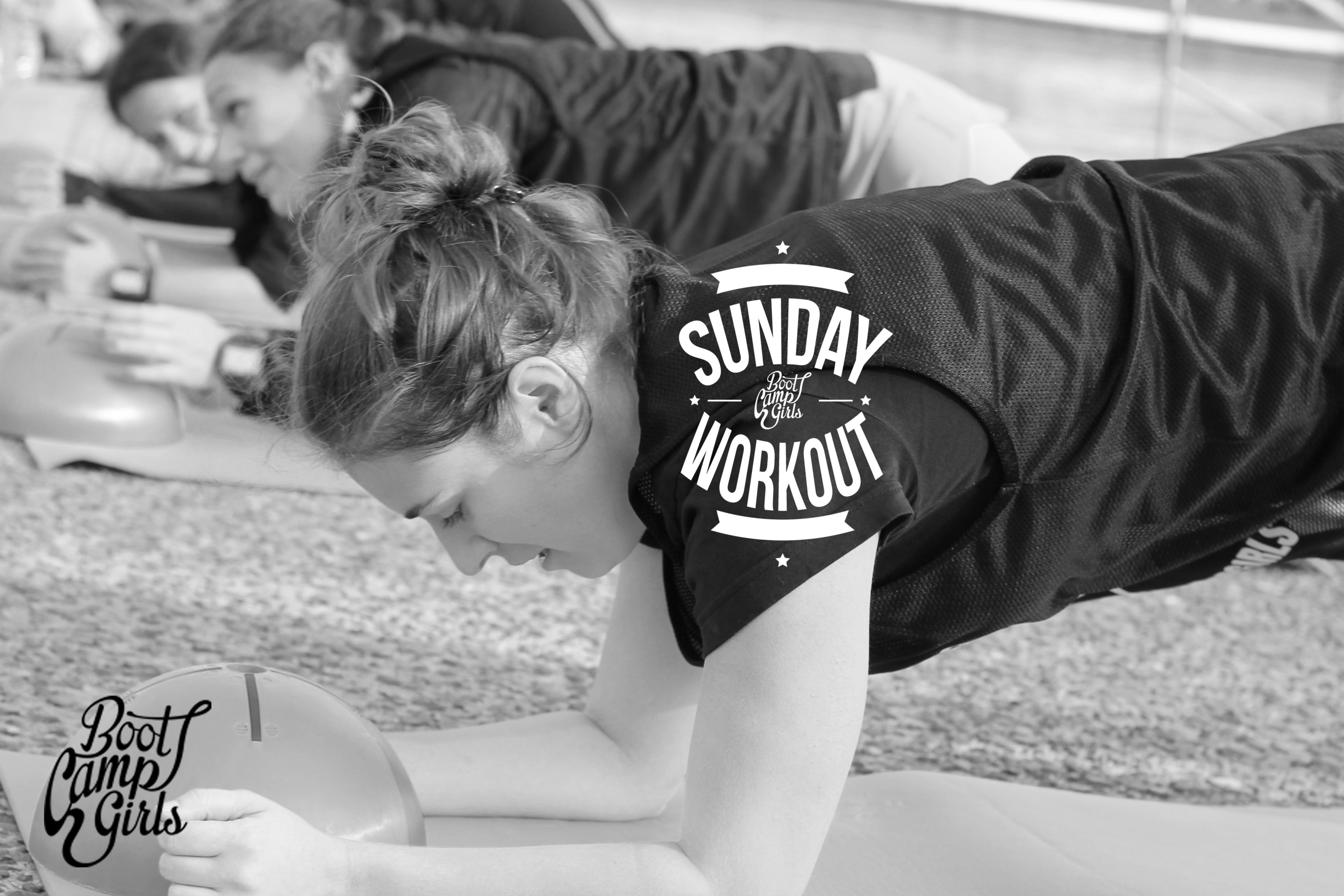 Sunday Workout Boot Camp Girls