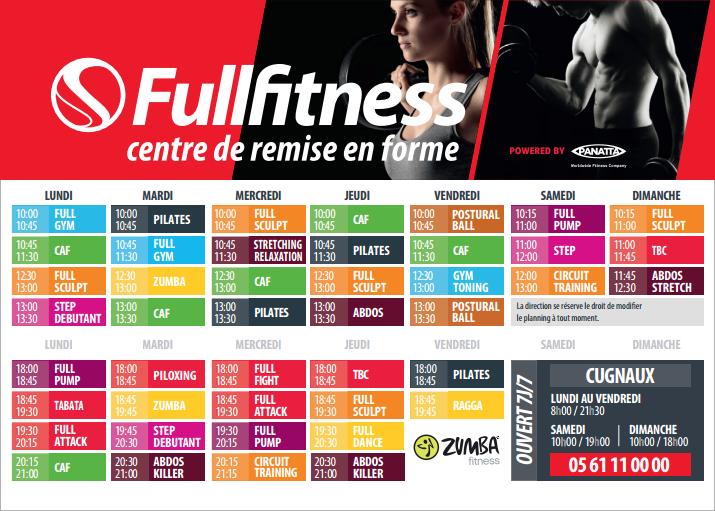 fitness cugnaux tarifs avis horaires essai gratuit