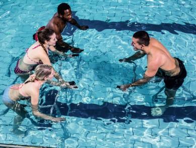 Aquabike / Aquacycling en piscine