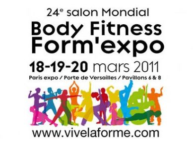 Le salon Mondial Body Fitness Form'expo à Paris