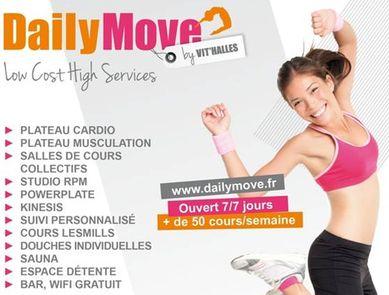 Daily Move, nouvelle enseigne de club de sport pas cher à Paris !