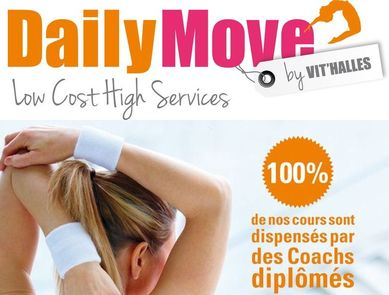 "DailyMove, des clubs de fitness ""High Services"" à prix low cost !"