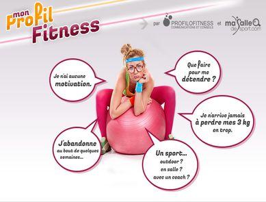 """Masalledesport.com lance le test forme """"Mon Profil Fitness"""" pour apprendre à mieux bouger !"""