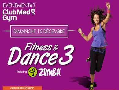 Zumba Step en exclusivité au Club Med Gym