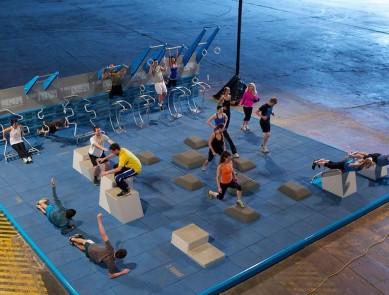 Lancement d'un programme national de fitness pour favoriser la pratique d'une activité physique régulière : 7 mouvements en 7 minutes !