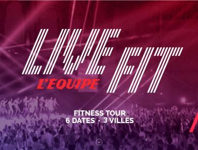 LiveFit : une tournée fitness hors du commun !