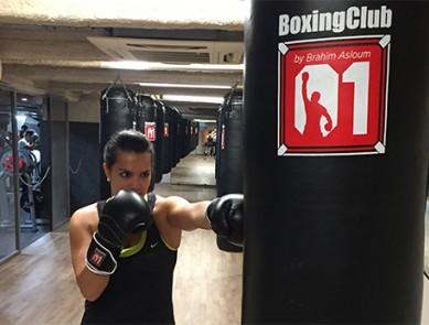 J'ai testé la boxe au Boxing Club de CMG Sports Club.