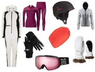 Le bon look pour les pistes de ski
