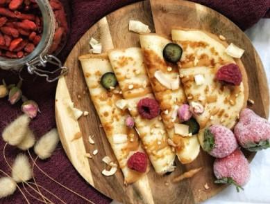 Chandeleur : 3 recettes de pâte à crêpe healthy & sporty