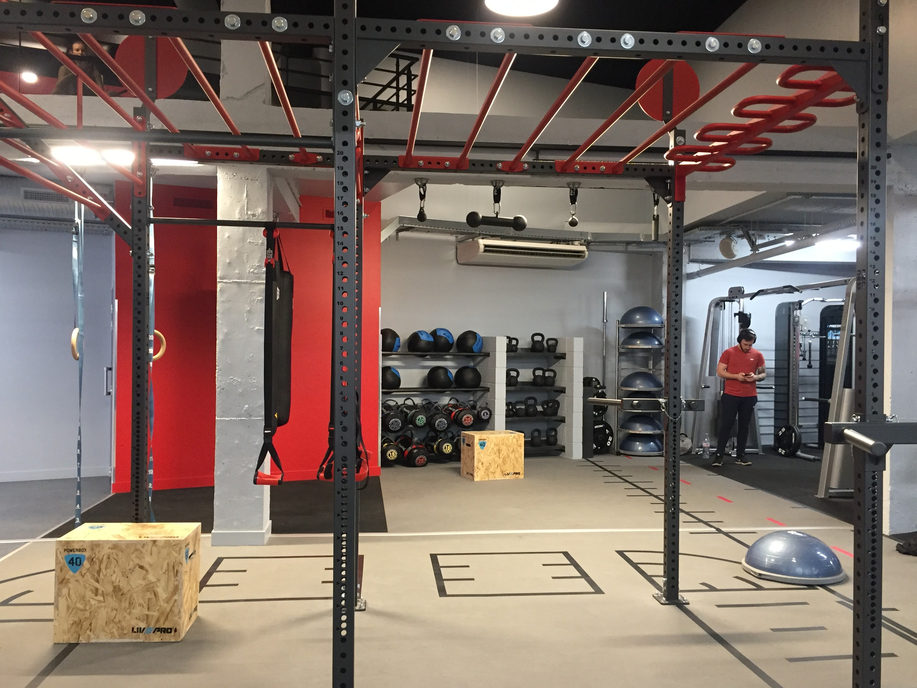 Neoness fait la part belle au functional training !