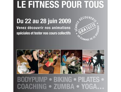 Semaine internationale du fitness chez Fitness First du 1er au 7 février 2010