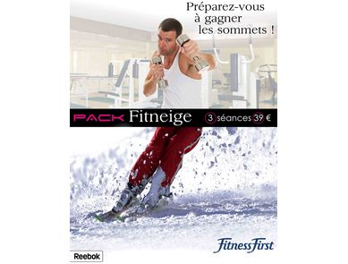 Pack Fitneige de Fitness First