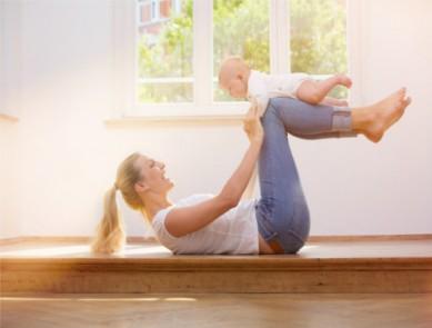 Fit'Mum : faîtes du sport avec bébé