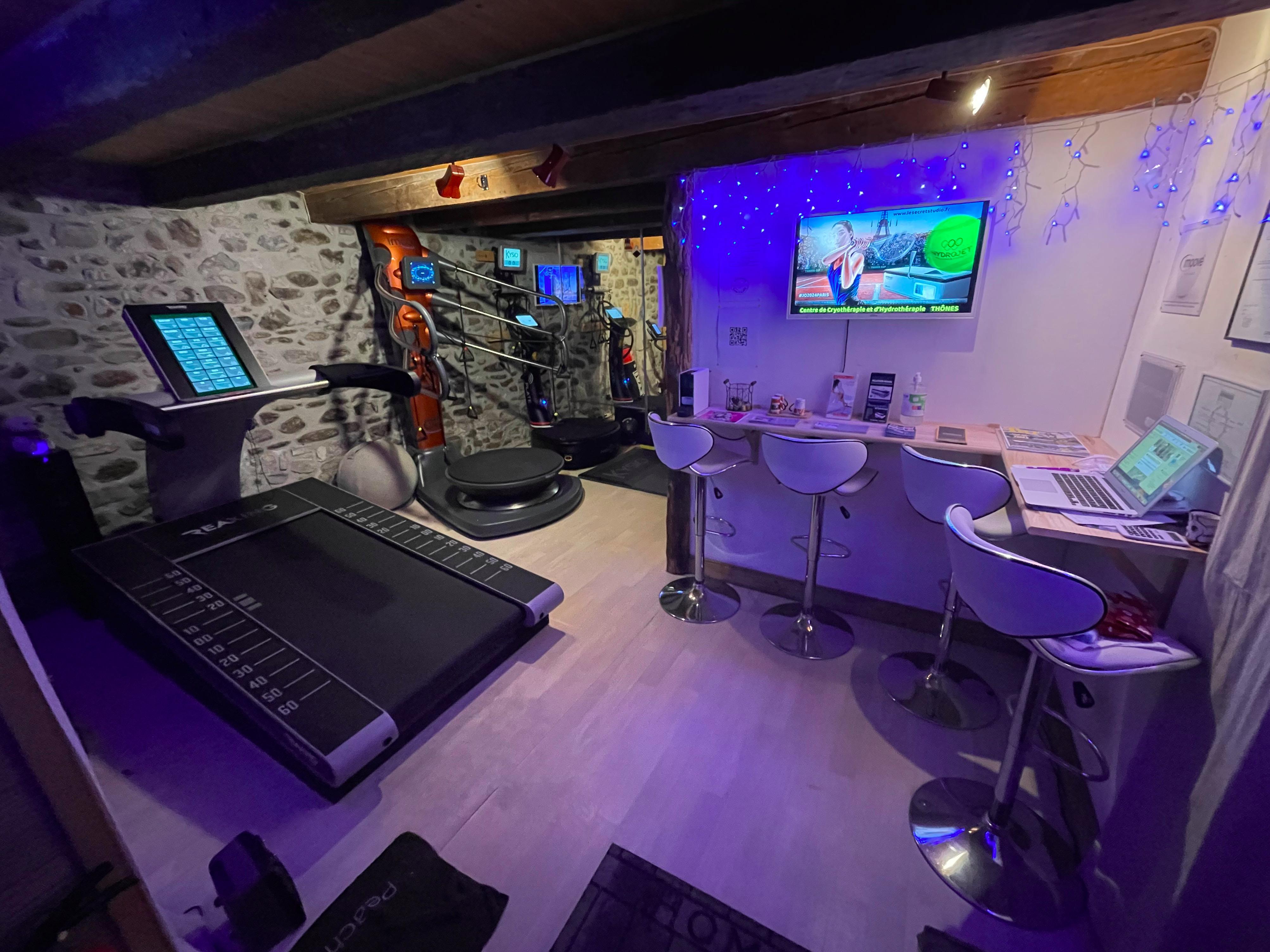 Centre de cryothérapie et préparation sportive - Le secret