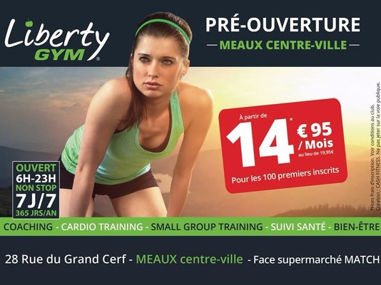 Liberty Gym Meaux