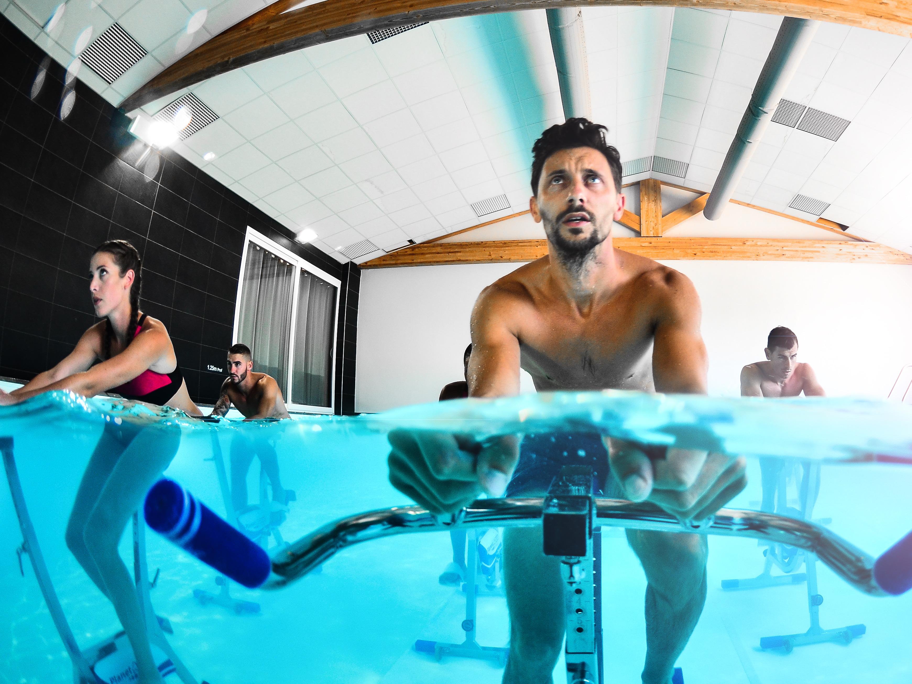 Aquabiking Montlhéry