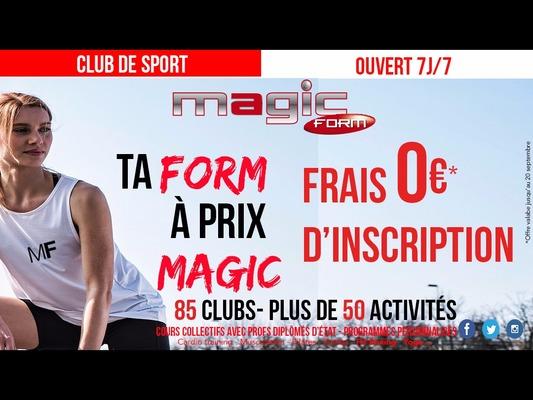 Magic Form Villiers sur Marne