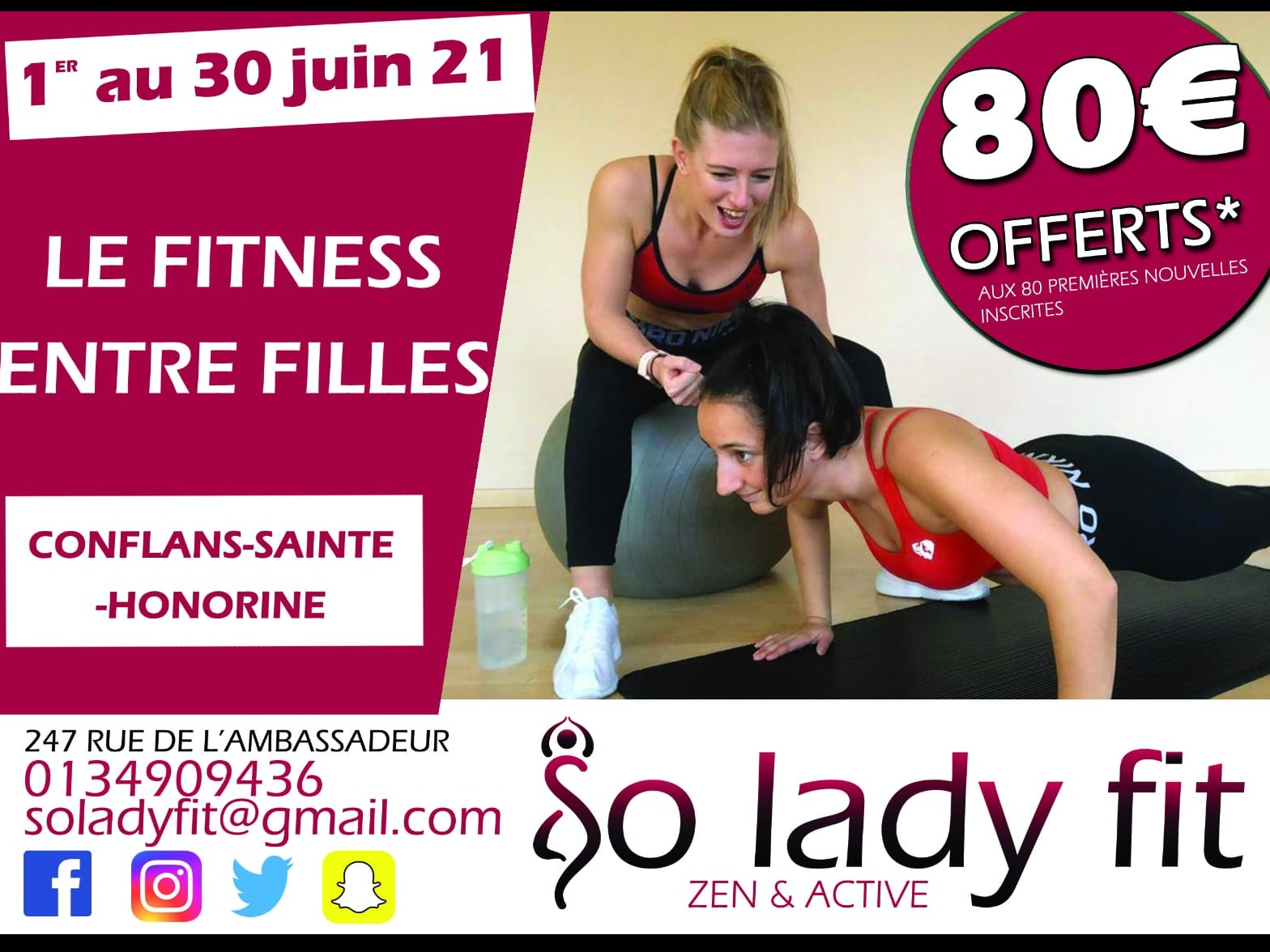So Lady Fit Conflans