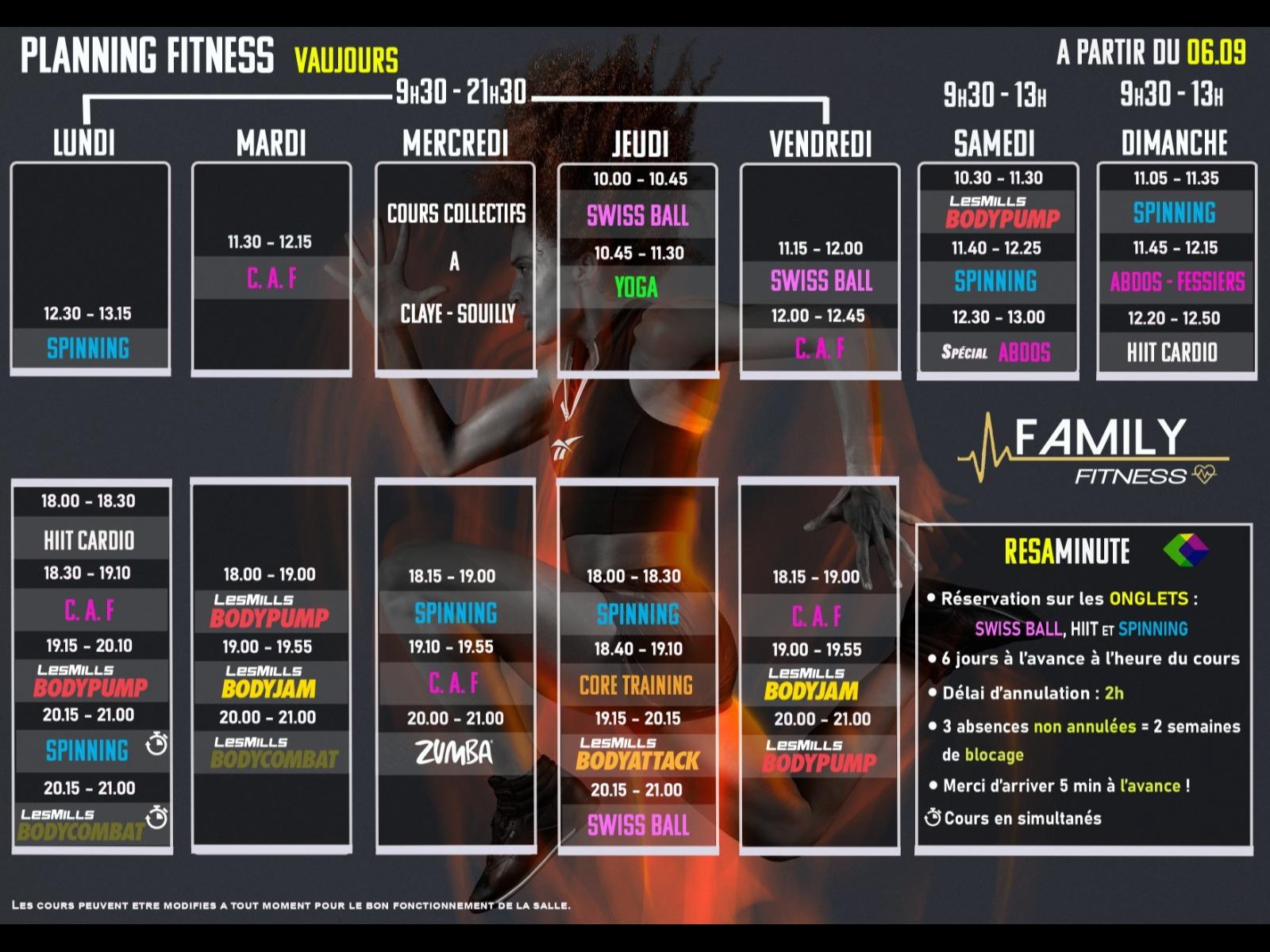 Family Fitness Vaujours