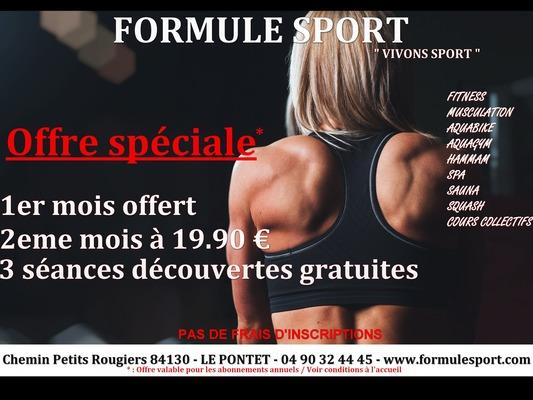 FORMULE SPORT