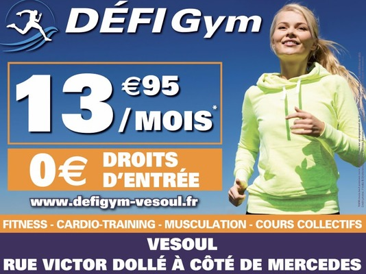 Défi Gym Vesoul