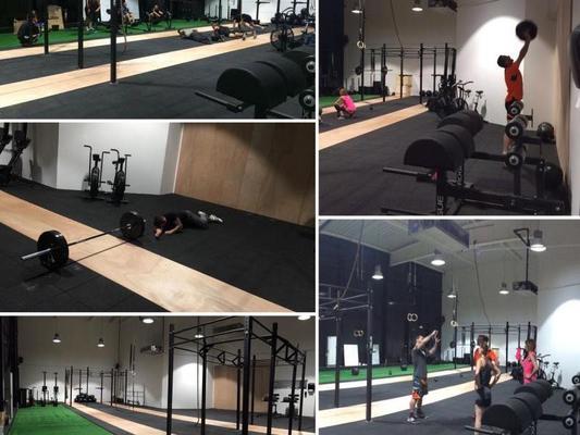 Black Monkeys CrossFit Orange 84