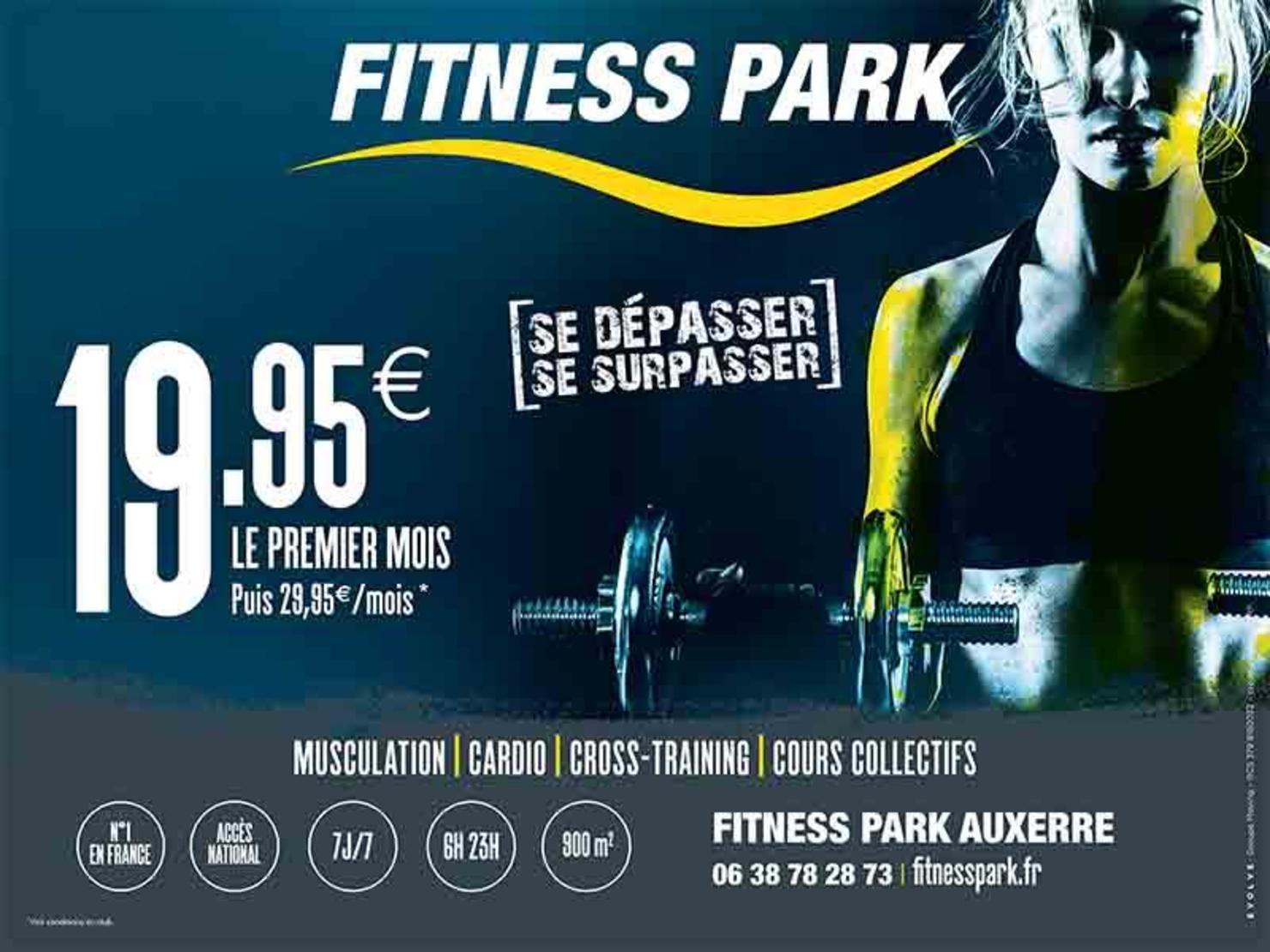 fitness park auxerre moneteau tarifs avis horaires offre d couverte. Black Bedroom Furniture Sets. Home Design Ideas